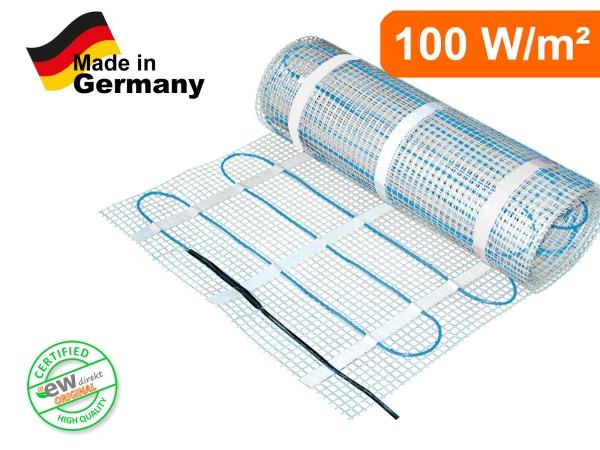 Elektrische Heizmatte SunPro für Fliesen 100 W/m²