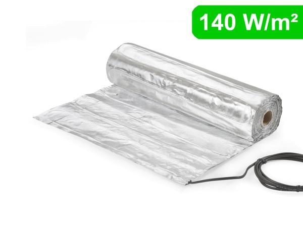 Alu-Heizmatte AluPro 140 W/m² für Laminat / Klickvinyl