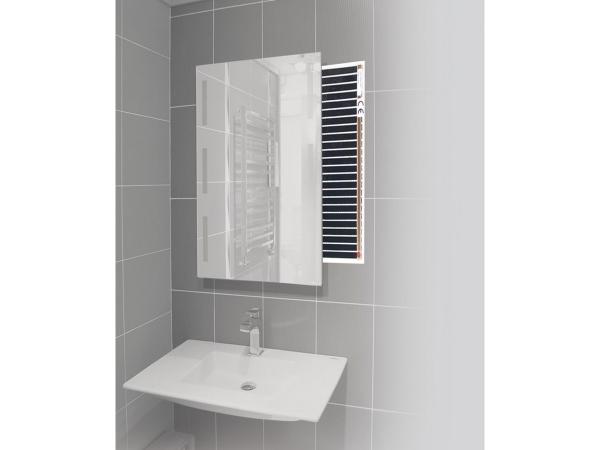 Spiegelheizung für eine klare Sicht im Bad