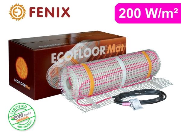 FENIX Ecofloor elektrische Heizmatte für Fliesen 200 W/m²