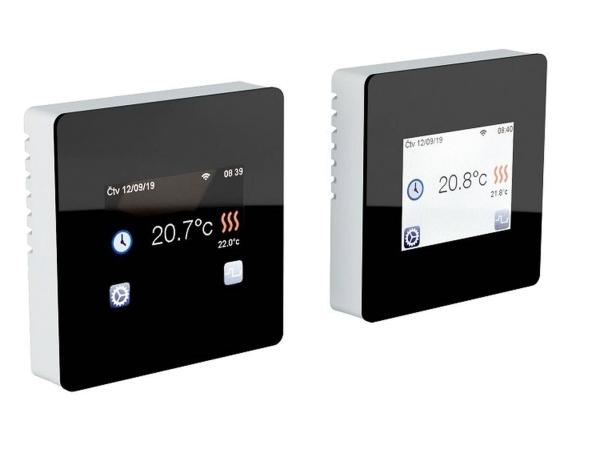 Digitales Thermostat Fenix TFT - WIFI schwarz