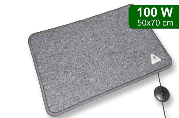 Heat Master© als Fußwärmer und Schuhtrockner für den Innenbereich 100 W - 50x70cm