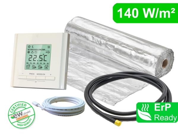 Thermostat RT-30 mit AluPro 140 W/m² für Laminat / Klickvinyl