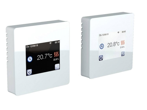 Digitales Thermostat Fenix TFT - WIFI weiß