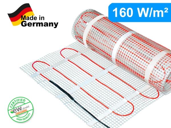 Elektrische Heizmatte SunPro für Fliesen 160 W/m²