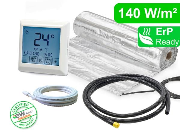 Thermostat RT-40 mit AluPro 140 W/m² für Laminat / Klickvinyl