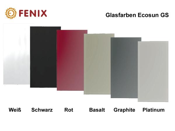 Fenix Ecosun GS Infrarot Glasheizkörper